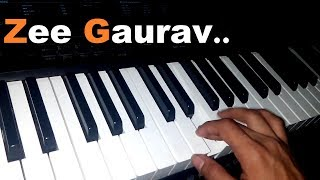 Zee Gaurav Title Song of Ajay Atul Piano Cover