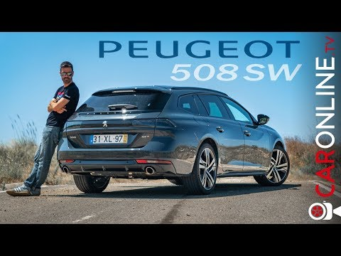 PEUGEOT 508 SW | CARRINHA do ANO 2019 [Review Portugal]
