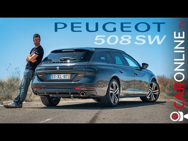 PEUGEOT 508 SW | CARRINHA do ANO 2019 [Review Portugal]