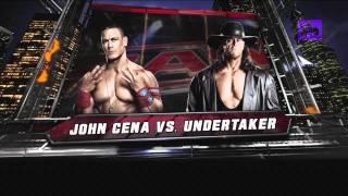 WWE 12 Road to Wrestlemania gameplay #1