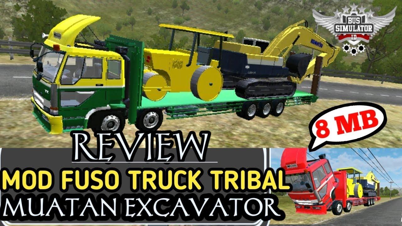 Review mod Fuso triball Excavator V1 - V8 Link FULL LENGKAP #1
