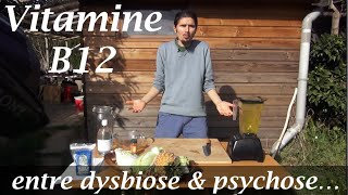 Vitamine B12 , entre dysbiose et psychose- www.regenere.org