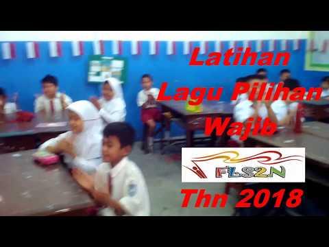INDAH SR SARAGIH Latihan Lagu Pilihan Wajib  FLS2N 2018