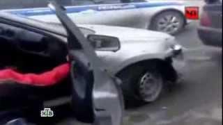водитель пьяный в дупель устроил дебош