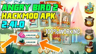Angry Bird 2 Hack/Mod Apk 2.41.0 | Unlimited Gems,Energy | 100% Working | Hindi/English
