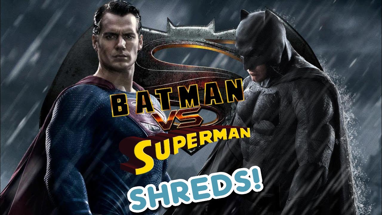 Batman v Superman Trailer - SHREDS
