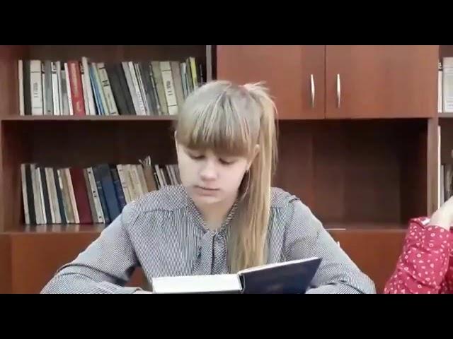 Изображение предпросмотра прочтения – «Гимназия 24» читает отрывок изпроизведения «Муму» И.С.Тургенева