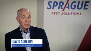 David Acheson at Sprague's 2018 Innovation in Pest Management Conference
