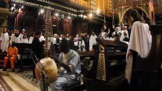 Fórum Misa Luba no Mosteiro São Bento na Virada Coral (Virada Cultural)