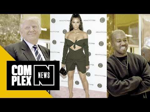 Kim Kardashian on Whether Kanye West Still Likes Trump: 'Um, Yeah'