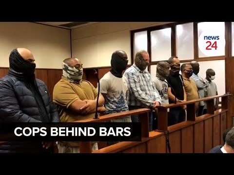 WATCH   Nine Durban cops accused of torture, murder, and kidnapping appear in court