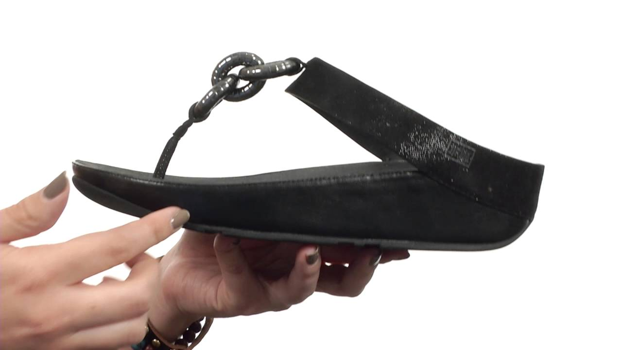 dc1c65cd1332 FitFlop Superchain Toe Post SKU 8668987 - YouTube