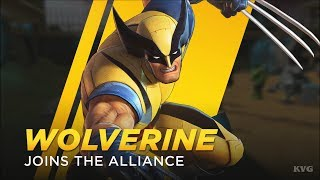 Marvel Ultimate Alliance 3: The Black Order - Wolverine Gameplay (Nintendo Switch HD) [1080p60FPS]