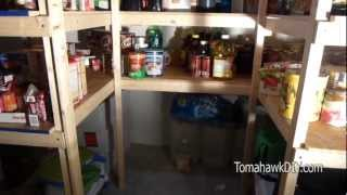 How To Build Simple Basement Shelves