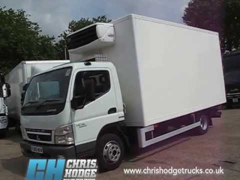 trucks for sale euro 5 mitsubishi canter fridge truck youtube. Black Bedroom Furniture Sets. Home Design Ideas