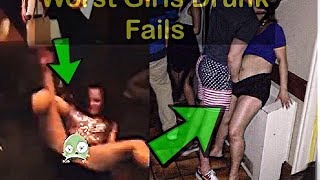 HOT GIRLS DRUNK FAILS-Try Not To Laugh