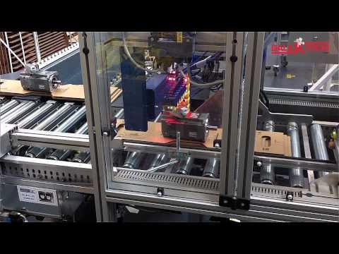Komplexe Scan- und Etikettieranlage ::: DALEKTRON GmbH