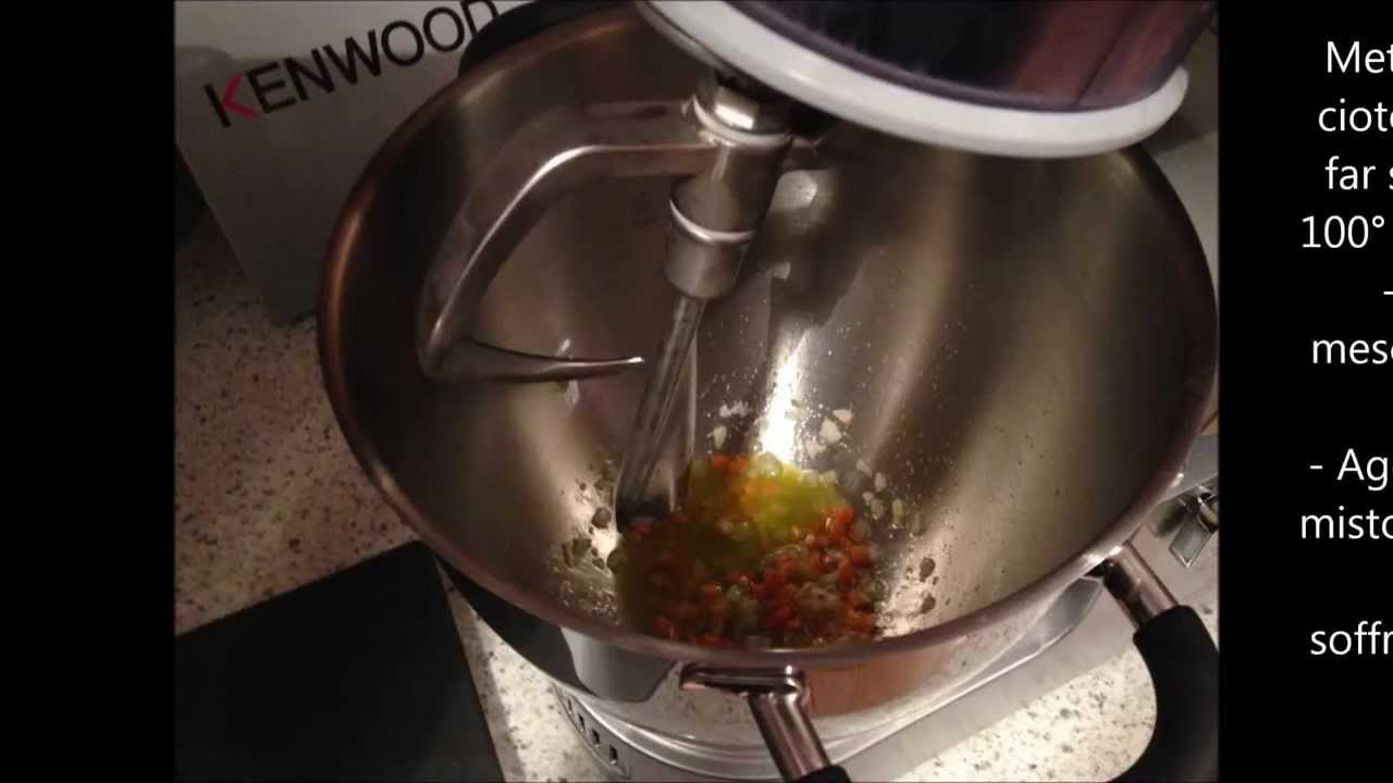 Ragù di Carne con Kenwood Cooking Chef - YouTube