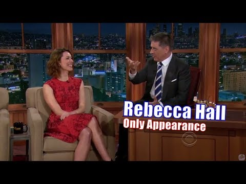 Rebecca Hall  She Ruined Craig Ferguson  Her Only Appearance