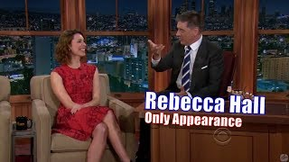 Rebecca Hall - She Ruined Craig Ferguson - Her Only Appearance