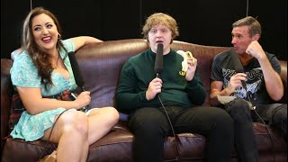 Lewis Capaldi eats his first banana in a very long time