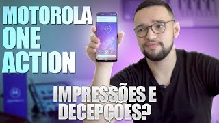 Motorola One Action  Novo Mas NÃo Tão Diferente 😒