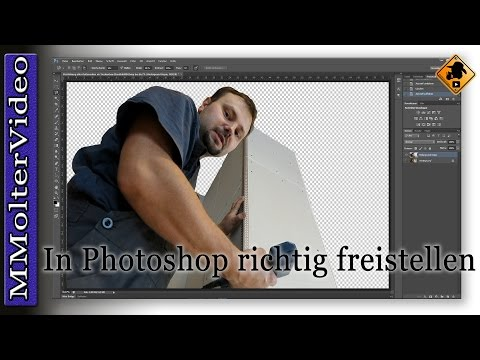 Objekte Und Personen In Photoshop Ausschneiden- Tutorial Von MMolterVideo