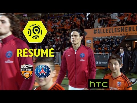 FC Lorient - Paris Saint-Germain (1-2)  - Résumé - (FCL - PARIS) / 2016-17