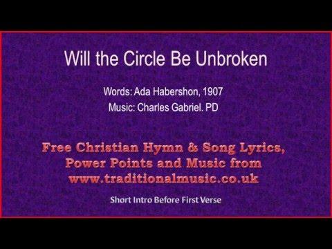 Will The Circle Be Unbroken Lyrics Music Youtube