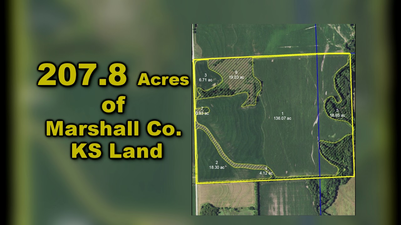 SOLD* 207 8 +/- Acres Marshall Co KS Land Auction - Midwest