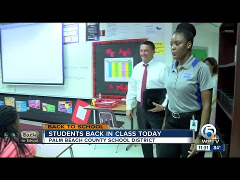 Dr. Avossa proud of Palm Beach Co. school district on first day