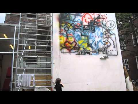 Live Action Graffiti Painting Machine