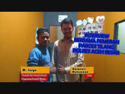 Interview   Pemeran Parodi Tilang Polres Aceh Besar - M. Insya