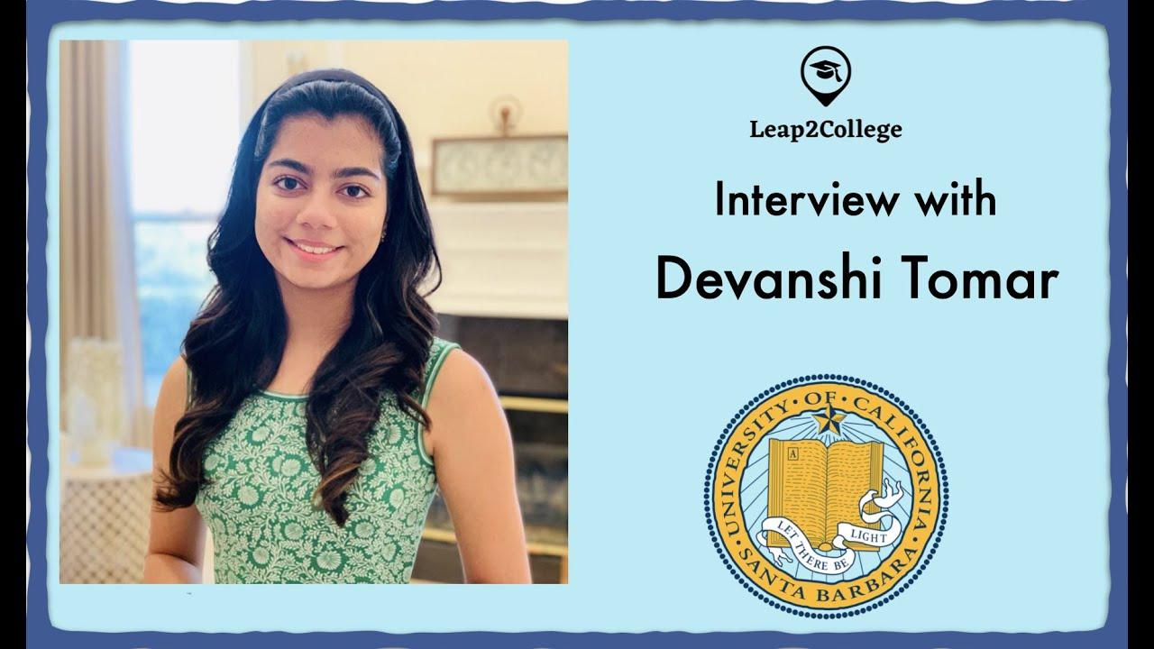 Interview With Devanshi Tomar