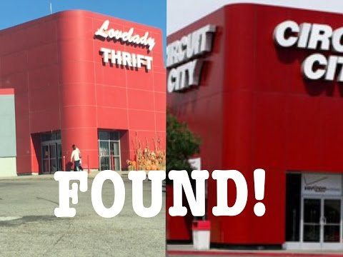 FOUND!! ABANDONED YET OPEN CIRCUIT CITY NEAR BIRMINGHAM ALABAMA | EXPLORING LOVELADY THRIFT STORE