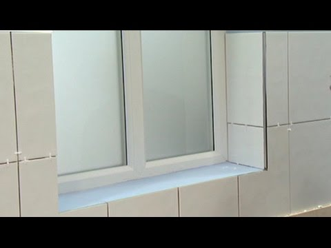 how to tile around windows by yourself