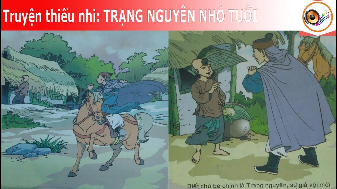 Kể truyện thiếu nhi  Trạng nguyên nhỏ tuổi