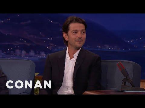 Diego Luna Believes In The Force  - CONAN on TBS