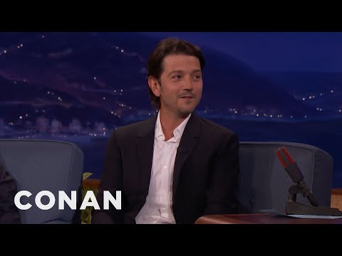 Diego Luna Believes In The Force   CONAN on TBS