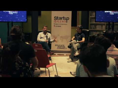Startup Grind Athens Hosted Theodore Theodoropoulos (Hotelgenius)