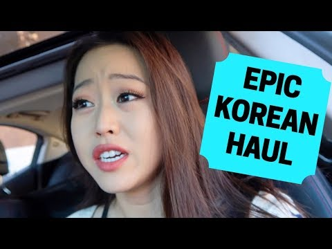 Thanksgiving Cooking + EPIC KOREAN HAUL! [VLOG]