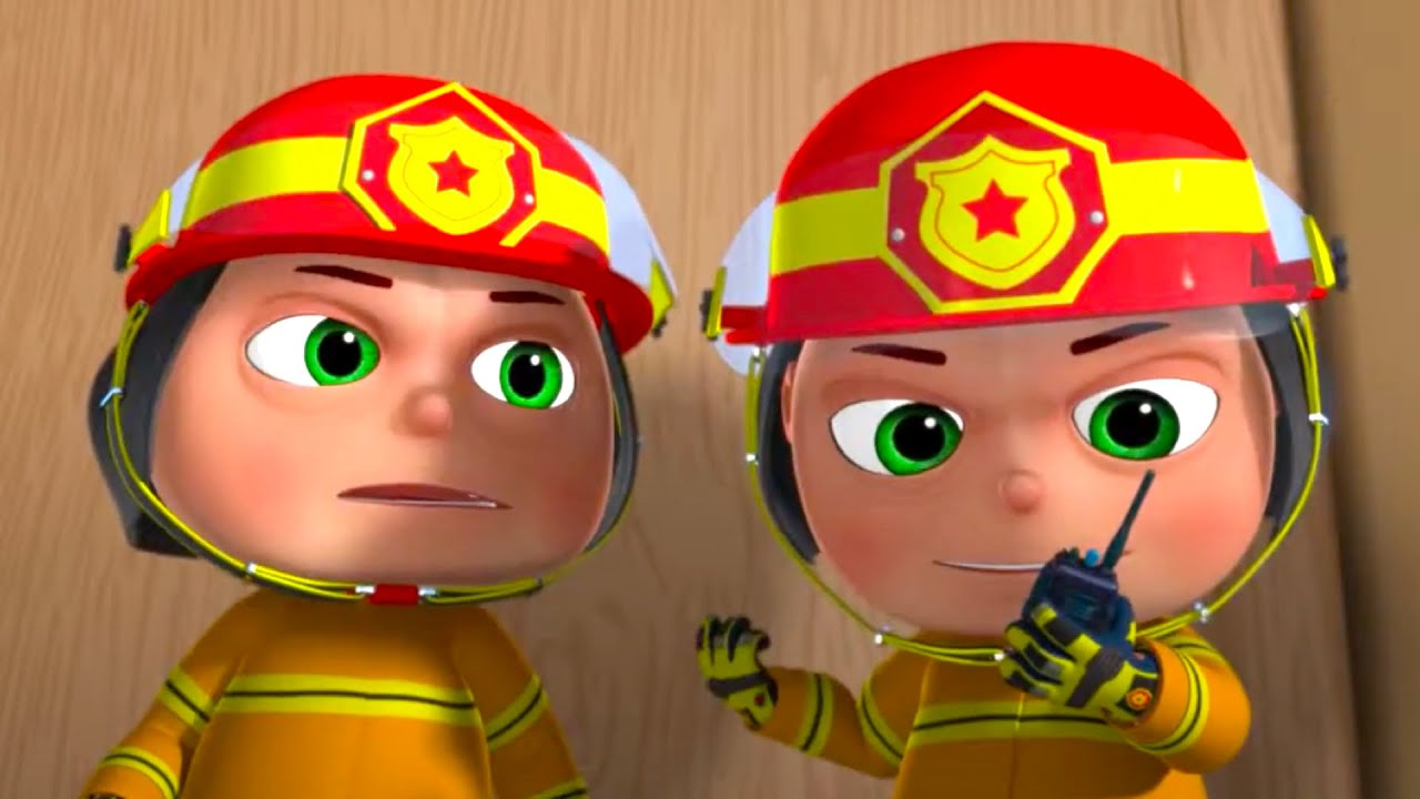 Zool Babies As Fire Fighters | Cartoon Animation For Children | Five Little Babies | Kids Shows