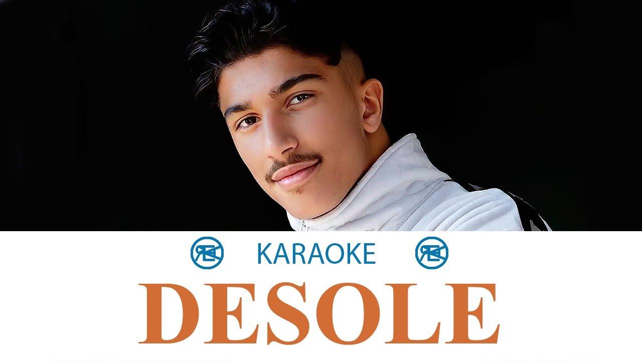 MERO - DÉSOLÉ | Karaoke, Instrumental cover (feat. NIMO)