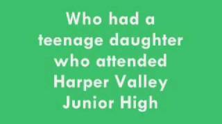 Jeannie C. Riley - Harper Valley PTA - 1968
