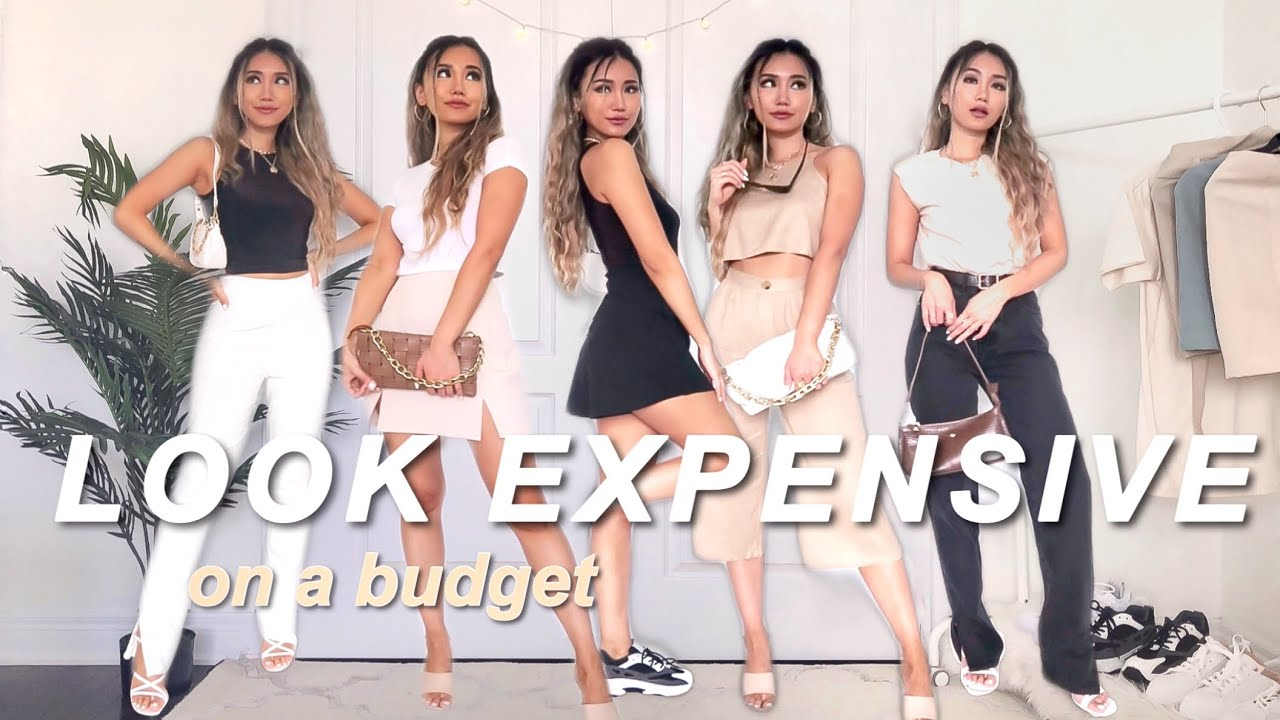 HOW TO LOOK EXPENSIVE ON A BUDGET | SUMMER 2020 STYLES Chic looks for less