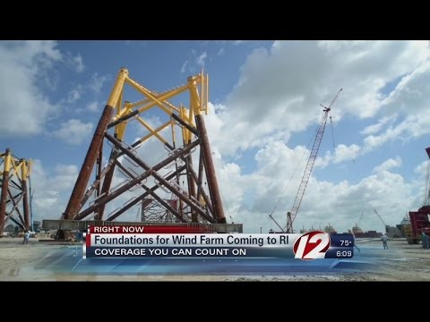 Foundations For Deepwater Wind Farm Coming To RI