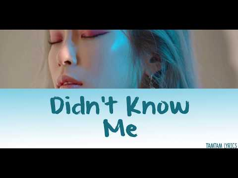 Didn't Know Me - Heize Lyrics [Han,Rom,Eng]