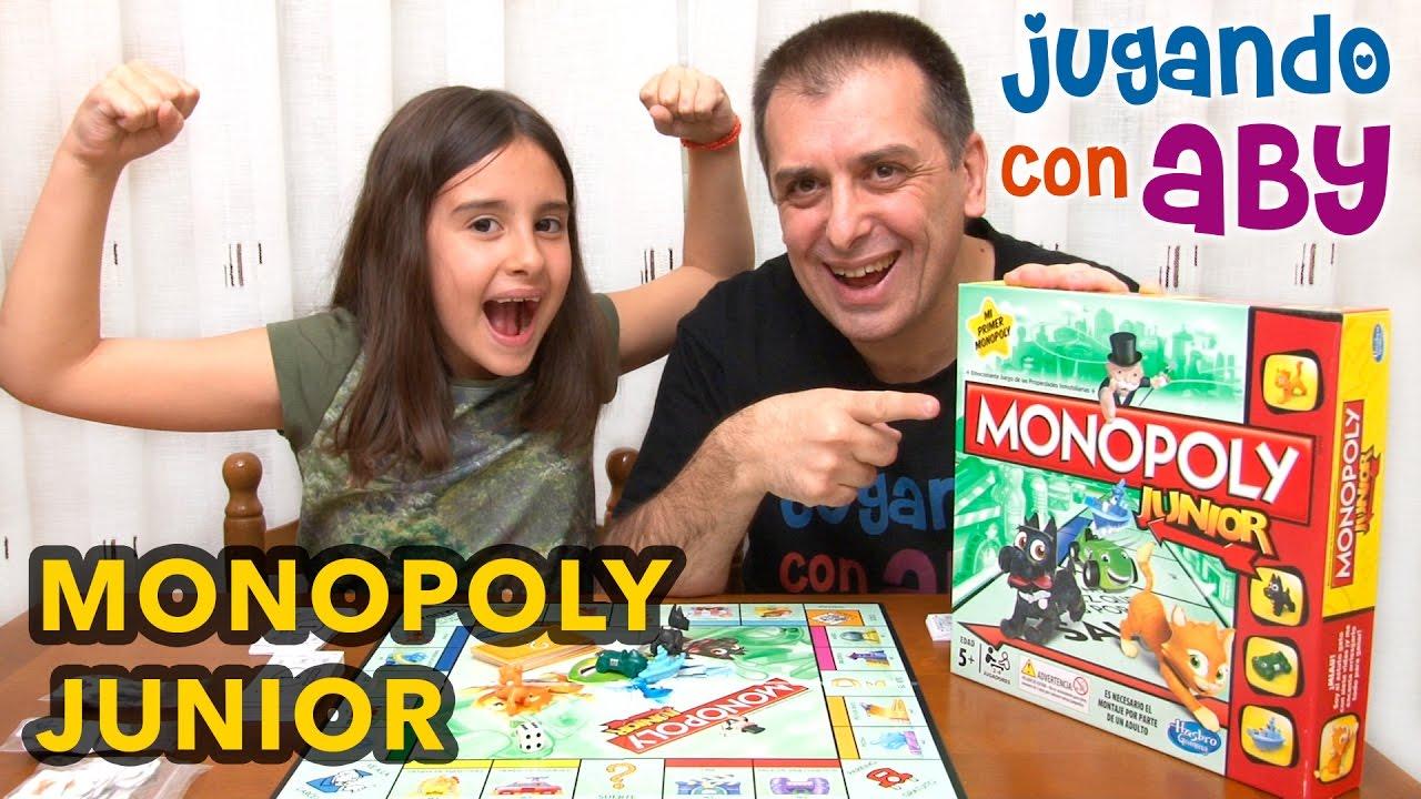 Monopoly Junior Como Arruinar A Tu Padre Juego De Mesa Youtube