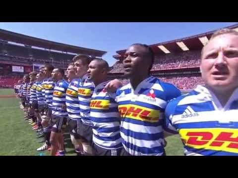 South African National Anthem - 2015 Currie Cup Final.
