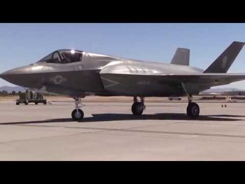 Nellis AFB: Marine F 35's at Red Flag for First Time
